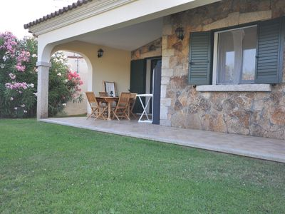 Photo for Villa B, 100 meters from Sandy beach of Budoni, A/C