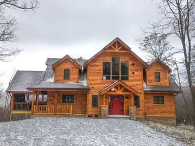 Photo for Stoneybrae Lodge- 5 Bedroom Lake Access Home in Central Deep Creek Lake