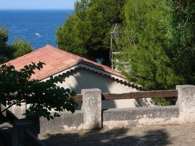 Photo for Apartment in a villa close to beautiful beach of Lecques