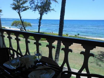#351 - Direct Oceanfront Kauai Rental By Owner Ocean View FREE WiFi Parking A/C