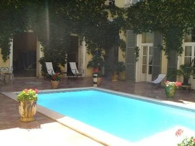 Photo for PRIVATE HOTEL XVII CENTURY HISTORIC CENTER OF NARBONNE. SWIMMING POOL