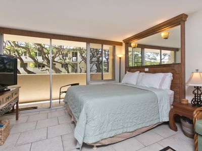 Photo for Relaxing Location - Large Studio Suite with private Balcony, Upgraded