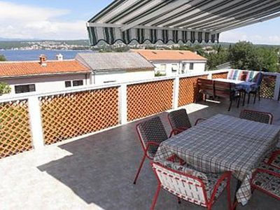 Photo for Apartment Ljerka  - Malinska, Island Krk, Croatia