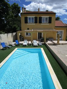 Photo for Villa with south facing pool, terraces and garden 600m2, 8 people, 4 bedrooms