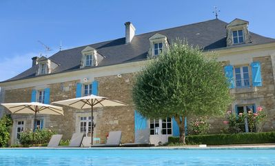 Photo for Luxury Farmhouse with Pool and Vegetable Garden Near Futuroscope