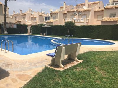 Photo for Large villa in Playa Flamenca, Free Wifi/English TV/Air Con & Pool nr Amenities