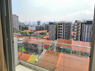 Photo for Peaceful Apartment with Balcony on the highest level!