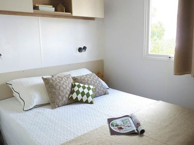 Photo for SUPERB new mobile home, All Options, 8 people Canet-en-Roussillon