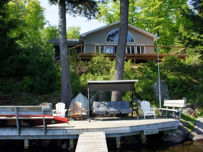 Photo for Beautiful Private Executive Waterfront Cottage