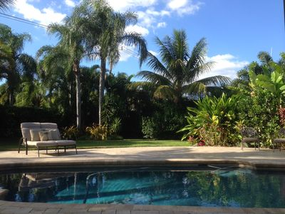 Photo for TROPICAL PARADISE ~HOUSE~ RESORT STYLE/PRIVATE HEATED SALTWATER POOL/NEAR BEACH
