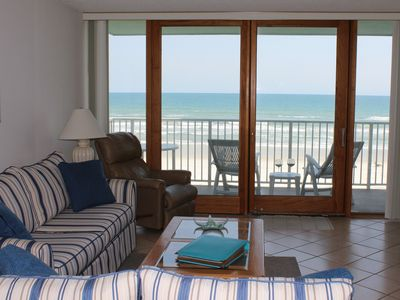 Photo for Absolutely Amazing DIRECT OCEANFRONT VIEWS No Drive Beach; heated pool!