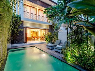 Photo for Kampoeng Villa · Spacious 2BR Private PoolVilla Kerobokan Kuta Bali
