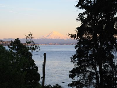 Photo for Waterfront Vashon Home with Amazing View