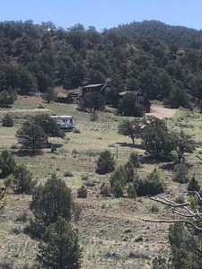 Photo for Beautiful three bedroom, two bath mountain home with stunning views and privacy