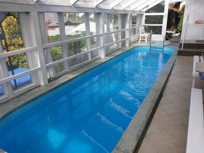Photo for Holiday house With pool, trampoline, minigolf and tennis court