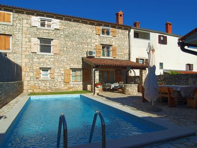 Photo for Istrian stone house with pool in a quiet location near Pula