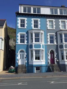 Photo for Luxurious Victorian house opposite the beach and in the middle of the village
