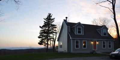 Photo for Stunning Mountain Views Atop Blueberry Hill w/ 40 Private Acres