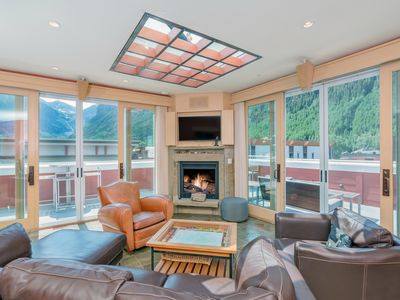 Photo for The Best Views in Telluride - 3 Bdr Penthouse with Private Wrap Around Deck and Hot Tub