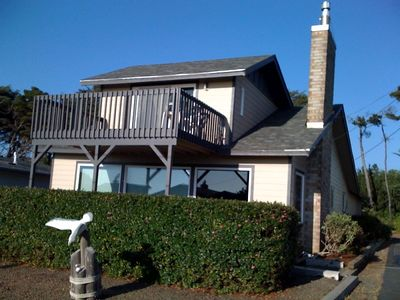 Photo for Ocean View 4 Bedroom only a 100 yards to the Beach! Hot Tub, WiFi, Pool table