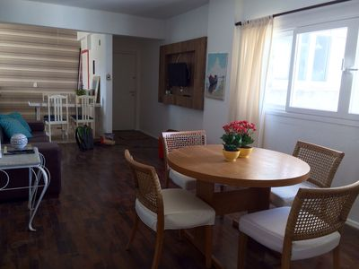 Photo for Apt Avenida Atlântica in Barra Sul, well decorated with 2 suites plus 1 bedroom