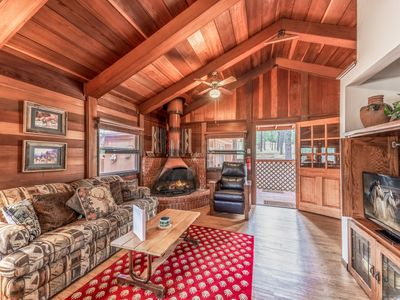 Photo for Deer Meadows: Adorable, Centrally Located Ruidoso Cabin with Private Hot Tub!