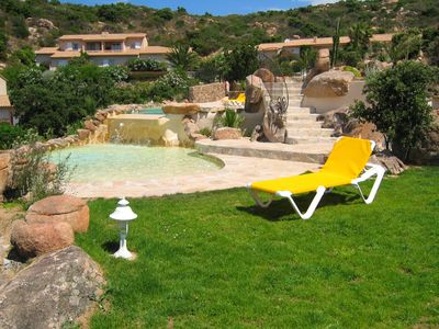 Photo for Mini-villa N ° 6 2 bedrooms approx. 65m² heated pool panoramic view