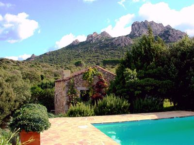Photo for Romantic, small holiday home with pool in idyllic location