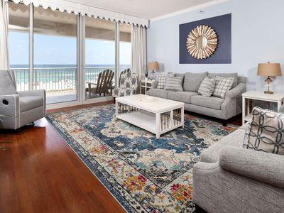 Photo for Bright, gulf front condo, Stunning views, Close to entertainment