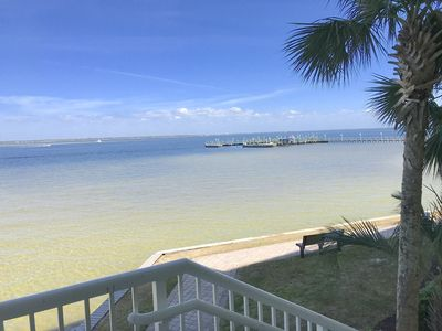 Photo for Aug 23-28 DEAL!! GREAT Direct Waterfront-Private Hot Tub & Garage-Next to Pools!
