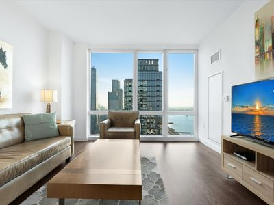 Photo for Modern 1 Deluxe Apt | Upscale Amenities | Hells Kitchen | by GLS