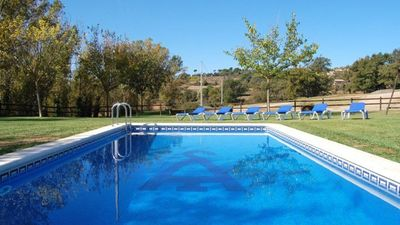Photo for 6 bedroom Villa, sleeps 14 in Gironella with Pool and WiFi