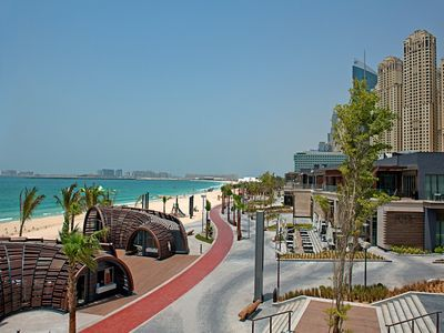 Photo for Luxury 2BR apt in JBR Sea View