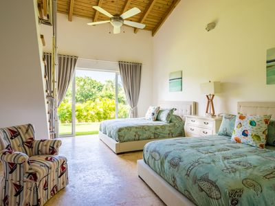 Photo for Comfortable, practical, fresh and beautifully decorated 4-bedroom villa.