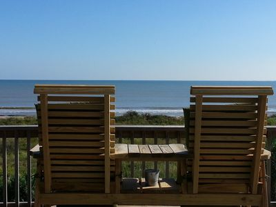 Photo for Beachfront!  Awesome Deck! Gourment Kitchen Pets OK-Pelican Bay