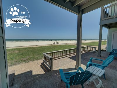 Photo for Beachfront, 1st floor property with unmatched view and location!