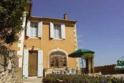 Photo for independent house, garden and terrace with stunning views. Ménerbes