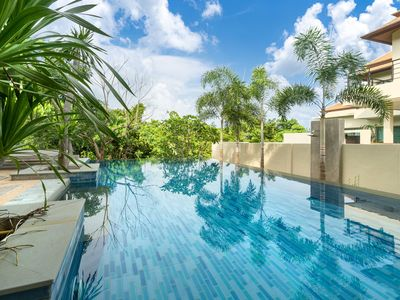 Photo for Villa Sole Lux 3 bedrooms with pool Nai Harn