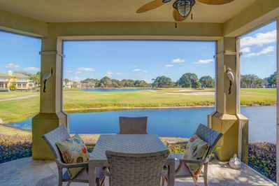 Enjoy great views from screen-in porch