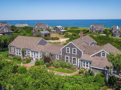 Photo for The Beachmont: Historic, Ocean-View Retreat in Quidnet w/ Beach Access