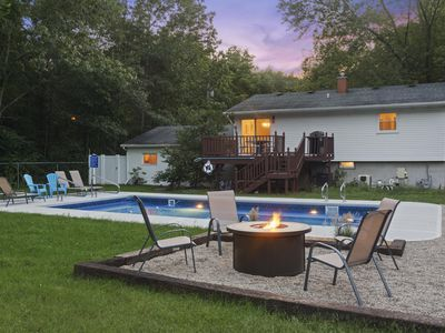 Photo for Michiana Shores Oasis | Newly Remodeled | Heated Pool | Minutes from Beach