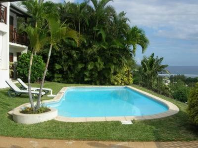 Photo for Saline Les Bains: very nice view on cocotrees and lagoon
