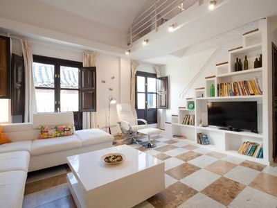 Photo for Duplex penthouse with charming terrace and parking. AE
