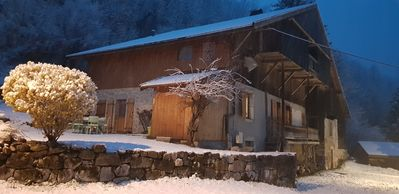 Photo for chalet for 2/8 people 10 minutes from the Grand Bornand 15 minutes from the Glusaz
