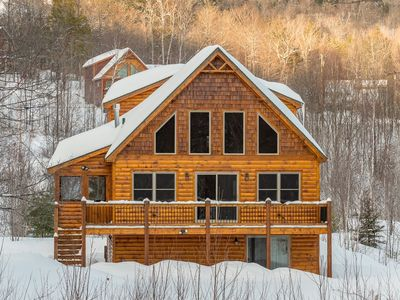 Photo for Pet Friendly Ski Chalet Close to Sunday River
