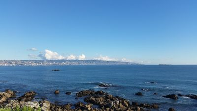 Photo for Superb huge 5BR apt. by the edge of Pacific Ocean, at Renaca (Vina Del Mar)