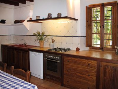 Photo for 4 bedroom Villa, sleeps 8 in Establiments with Pool and WiFi