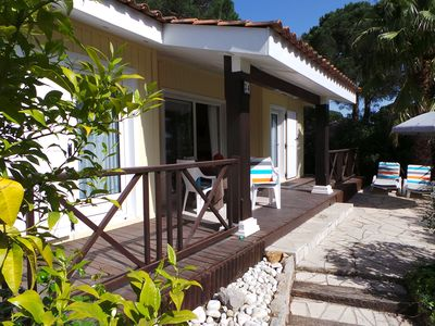 Photo for Private park with detached holiday homes in Gassin