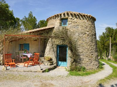 Photo for Vacation home Moulin de Bissat in Lagrasse - 4 persons, 2 bedrooms