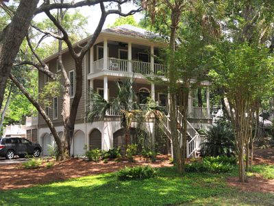 Photo for Exclusive Southern Plantation Style 4BR, Private Heated Pool